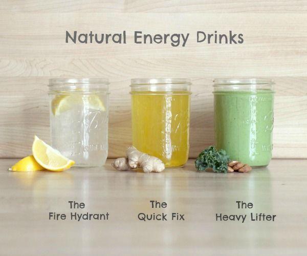 Weg met chemische blikjes, maak zelf homemade energydrankjes!