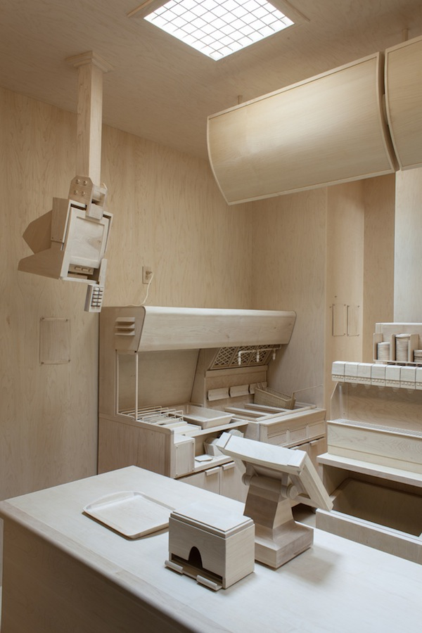 Fastfood Keuken : Roxy Paine Fast Food Kitchen