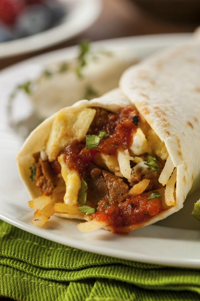 Burrito stock