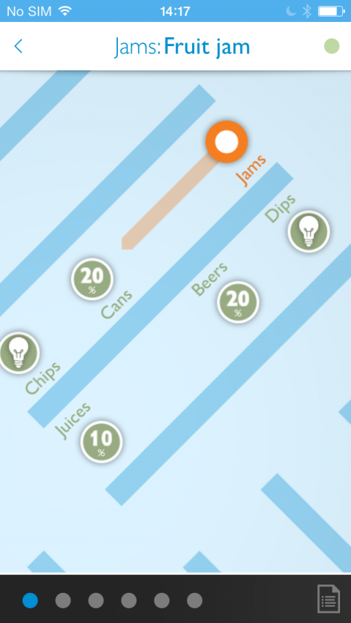 Philips-connected-retail-lighting-system_Sample-app_Navigation