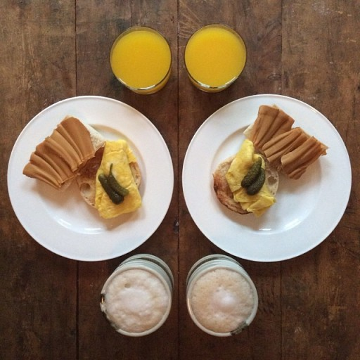 Symmetrical-Breakfasts