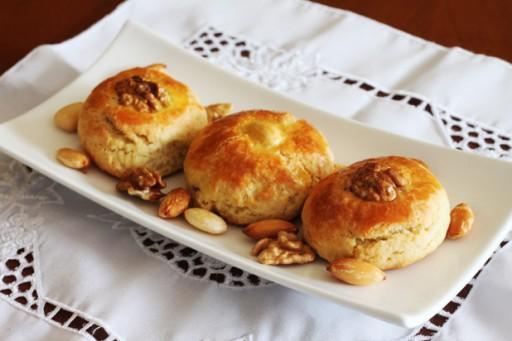 Turkse rozen koekjes