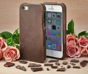 Een iPhonehoesje van chocolade om op te peuzelen