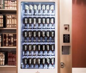 Champagne uit een automaat: in Londen kan het