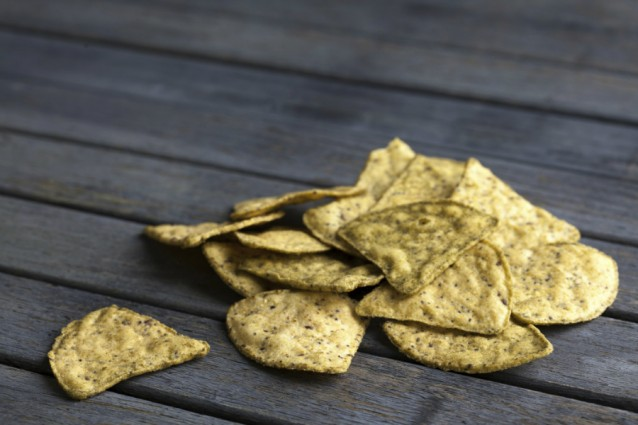 tortilla chips totopes stock