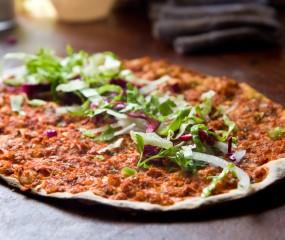 Infographic: verschillende pizza's over de hele wereld