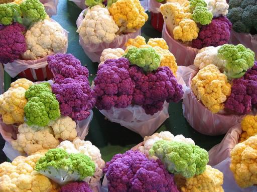 bloemkool kleurtjes