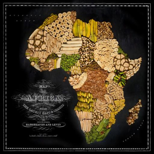 landkaart afrika