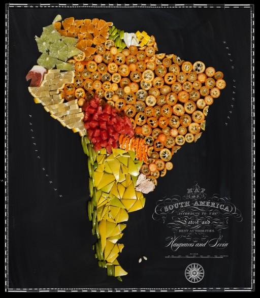 landkaart brazilie
