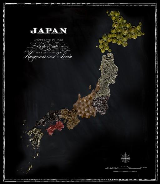 landkaart japan