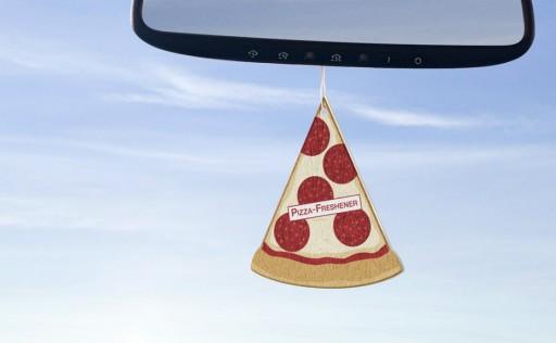 Bizarre pizzacreaties - pizzaluchtverfrisser