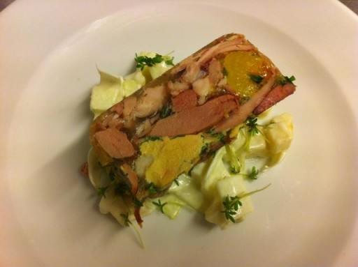 Cafe de klepel - terrine