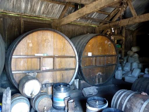 Cider op eiken vaten