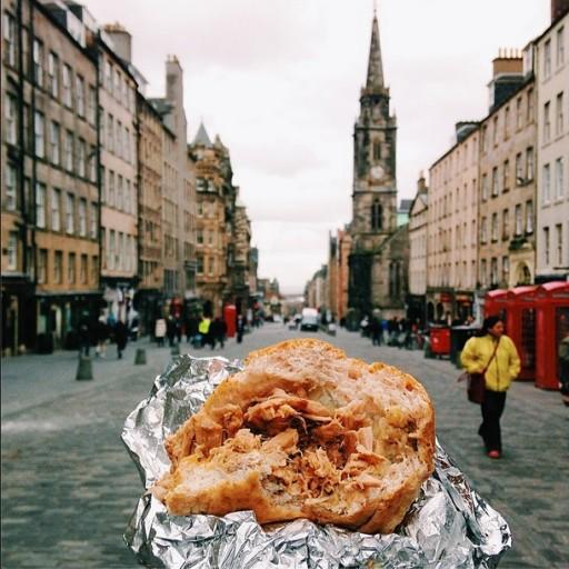 Broodje in Edinburgh
