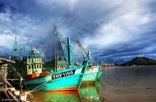 Duurzaam vissen - vissersboot