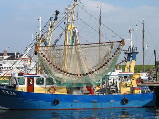 Duurzame visserij - vissersboot2