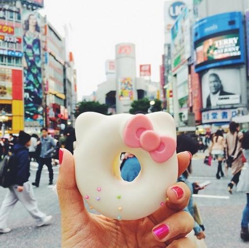 Hello Kitty Donut Tokyo