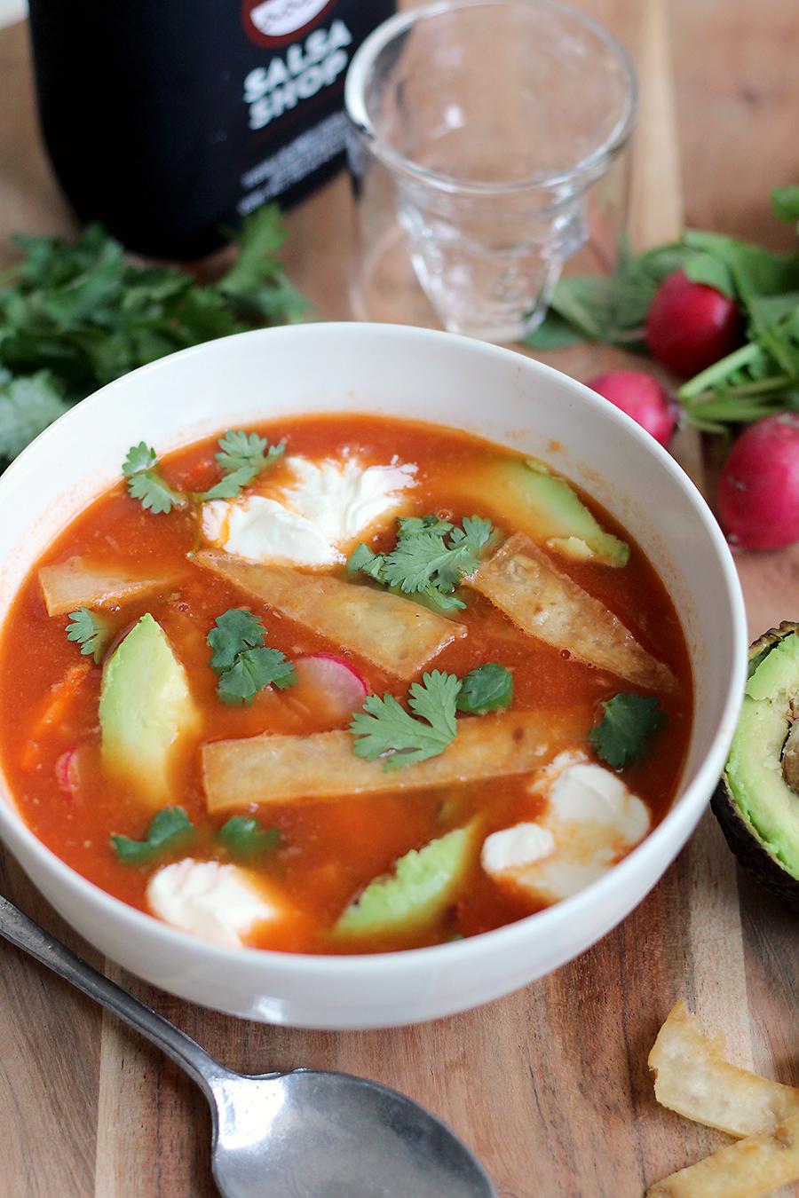 lichte soep vooraf