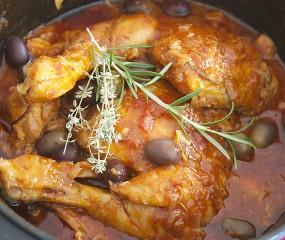 Echte Italiaanse stoofschotel met kip