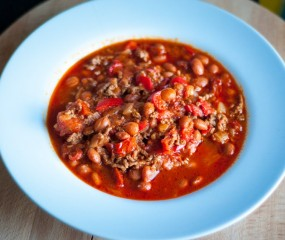 Pittige chili con carne