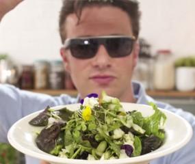 Jamie Oliver kookt met Google Glass