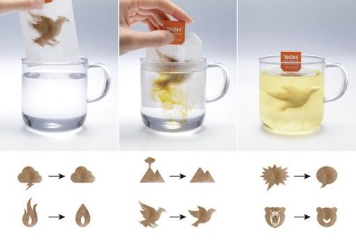 Vernadere theezakjes