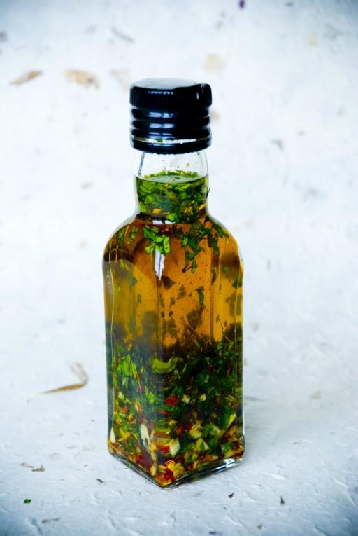 Stock kruiden olie