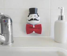 Mr. Sponge bewaart je schoonmaaksponsje in stijl