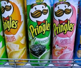 Dit zijn de meest opvallende smaken Pringles óóit