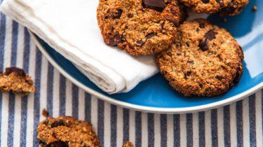 Gezonde chocolate chip cookies van Chickslovefood