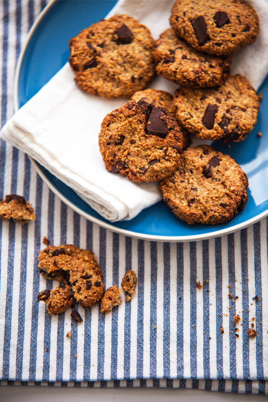 Gezonde chocolate chip cookies van Chickslovefood