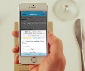 De app WineGlass scant je wijnkaart én geeft advies