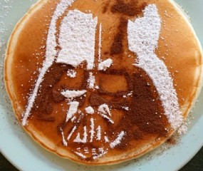 DIY: Darth Vader op je pannenkoek