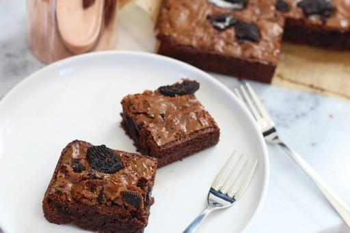 Oreo brownies 2