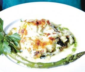 Lasagne met seizoensgroenten uit Venetië
