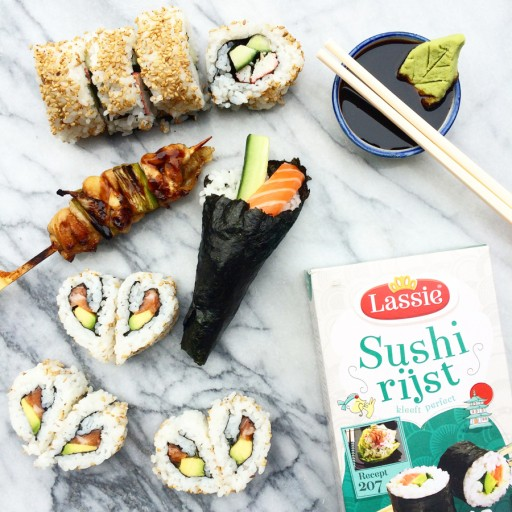 sushi lassie