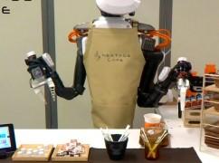 Het kopje koffie van de toekomst wordt gezet door een robot-barista