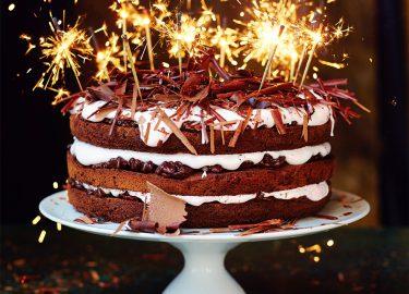feest taart Jamie Oliver's ultieme chocolade feesttaart   Culy.nl feest taart