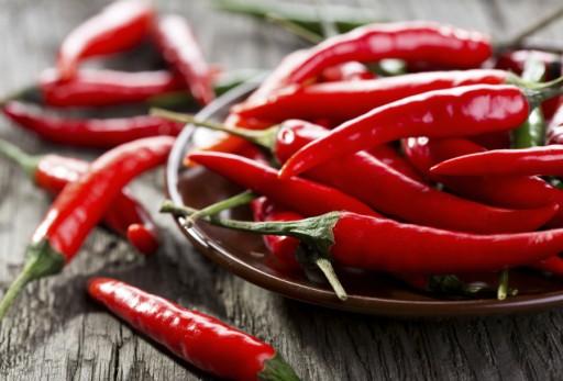 Chili peper stock