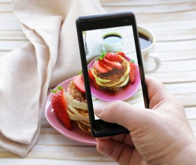 Tof: straks kun je je foodfoto's ook in 3D nemen