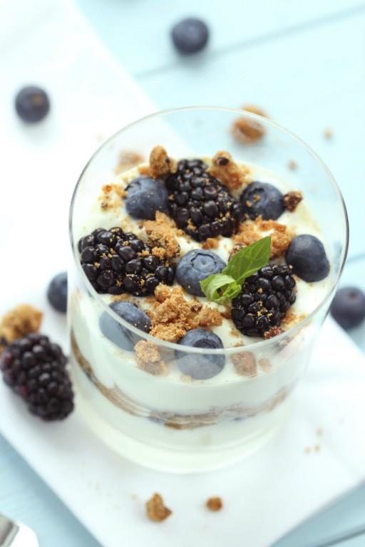 herfst ontbijt met yoghurt