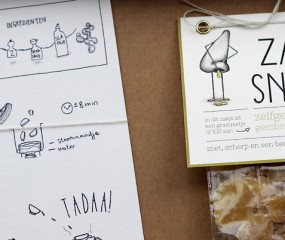 Prachtige food illustraties & gekke snoepjes van Amsterdamse Kwennie Cheng