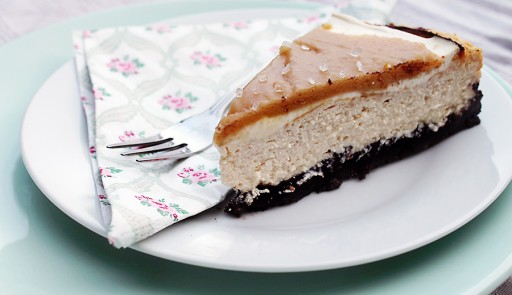 Salted Caramel Cheesecake1