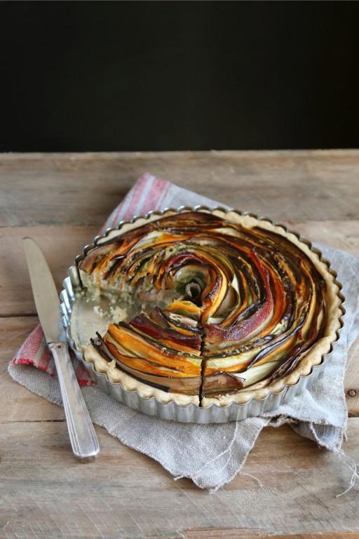Hartige taart stock