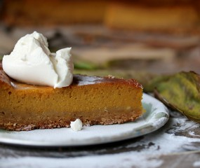 Miljuschka bakt… een herfstige pompoentaart