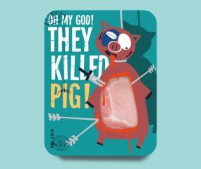 Deze morbide Russische vleesverpakkingen zijn geïnspireerd op South Park