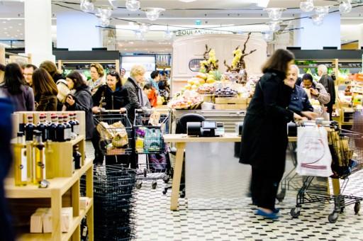 winkelen in bon marche