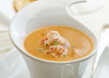 voorgerecht kerstdiner soep
