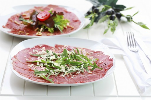 Carpaccio stock