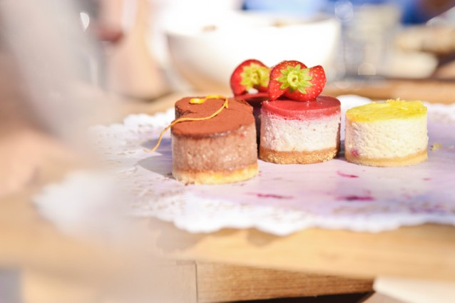 De eerste snoepjes van de gloednieuwe patisserie afdeling: vegan, glutenvrij en suikervrij
